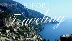 15 Things You Forget to Do Before Traveling
