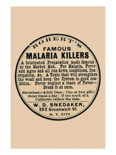 Robert's Famous Malaria Killers Posters at AllPosters.com