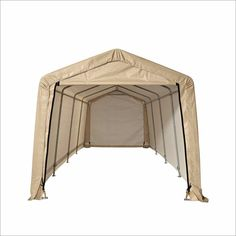 Sandstone Peaktop Storage Shed