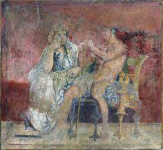 Фрески из Боскореале. 50 - 40 гг. до н. э.