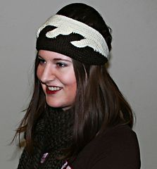 Atwirl crocheted headband
