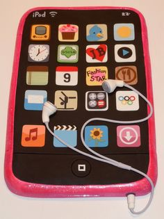 The Icing on the Cake: ipod Touch Cake Topper