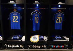 Enquanto isso, a camisa de Lionel Messi está pendurado no quarto de vestir a Argentina. Infelizmente para a Alemanha, ele está em multa arruma