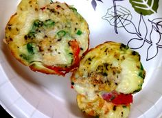 Super Easy Paleo Egg Poppers - Serves 4 to 5 - Great and easy Protein Breakfast or Snack