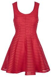 Airtex Fitted Skater Dress