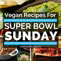 Score big this Sunday with our collection of delicious #vegan recipes to serve at your Super Bowl party! http://bit.ly/1BAfrBf