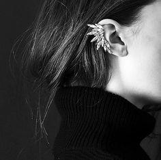 Non pierced Ear Cuff No Piercing Ear Cuff by SusyDeMarchiJewelry