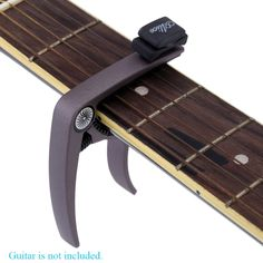 Alice Guitar Capo Zinc Alloy with Plectrum Holder for Acoustic and Electric Guitar Banjo and Mandolin Guitar Parts