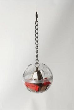 Caitec Foraging Ball with Chain and Bell * Wow! I love this. Check it out now! (This is an amazon affiliate link. I may earn commission from it)