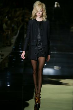 Tom Ford - Spring 2015 Ready-to-Wear - Look 1 of 33