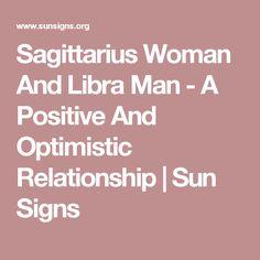 Sagittarius woman and a libra man