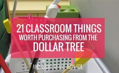 As a teacher I set off to the Dollar Tree regularly in order to find good buys for my classrooom. Here are my ideas on what's worth purchasing at the dollar tree as a kindergarten teacher. These items may be used exactly as they were intended or I may have a creative classroom purpose for it.