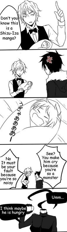 Hello Baby (Shizaya) part 5 of 6