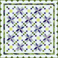 "Stargazer Pattern by Elisa Wilson of Elisa's Back Porch Designs at KayeWood.com. Easy piecing directions for two separate blocks. This quilt measures 81"" x 81"" and includes instructions for a 25"" x 65"" table runner. http://www.kayewood.com/item/Stargazer_by_Elisa_s_Backporch/1775 $9.00"