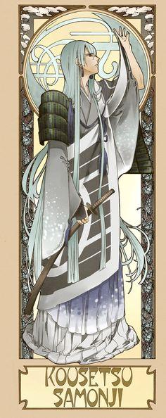 【刀剣乱舞】アールヌーボー風刀剣男士イラストまとめ 刀剣速報-刀剣乱舞まとめブログ-