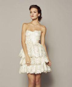 Bellísima la colección 2014 de vestidos de novia de @rcennamo