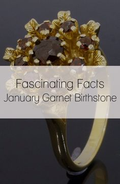 It's the Garnet Birthstone this January, do you know of its healing powers?