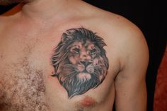 See more tattoo ideas on http://tattooswall.com/new-lion-face-tattoo-ideas-art-on-chest-for-men-1493.html new lion face tattoo ideas art on chest for men 1493 - http://goo.gl/jYZCVm #1493, #Art, #Chest, #Face, #For, #Ideas, #Lion, #Men, #New, #On, #Tattoo