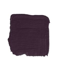 """C2 Paint Wicked 6446 """"When you first see this deep, rich purple, it looks quite dark, but it never loses the color. There's a good dose of red plum underneath. It would look kind of dapper on a door, very Savile Row. Dark and distinguished, yet unexpected. And it would work equally well on a traditional or a modern house."""" -KEN FULK"""