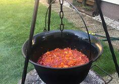 Bográcsos káposzta leves Vagy korhelyleves picit másképp😜 | Szlama Edit receptje - Cookpad receptek Charcoal Grill, Grilling, Outdoor Decor, Charcoal Bbq Grill, Crickets
