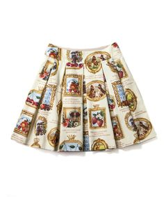 Anniversary フレームのミニスカート - Jane Marple Online Shop