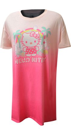 Hello Kitty Sleepwear, Loungewear and Pajamas for Women Best Pajamas, Cute Pajamas, Pajamas Women, Hello Kitty Characters, Bra Shop, Cat Shirts, Night Gown, Pajama Set, Lounge Wear