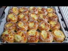 Pizza Recipes, Pretzel Bites, French Toast, Food And Drink, Bread, Breakfast, Youtube, Recipe, Bag