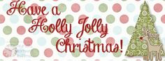 Have a Holly Jolly Christmas Facebook cover, feel free to use as-is