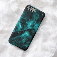 Top Awesome Beautiful Turquoise Pattern Tough iPhone 6 Case