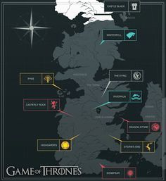 It Started In 82: Game of Thrones - Map Mock up