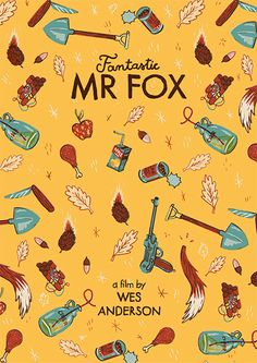 5 Fantastic Mr Fox by Andres Lozano