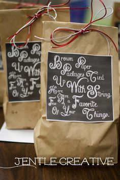 Jentle Creative: Holiday Gifts for the Masses