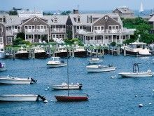 Nantucket Harbor Massachusettes