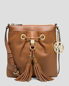 MICHAEL Michael Kors Crossbody - Drawstring Tassel | My newest purchase. Only in the tangerine color. Love it