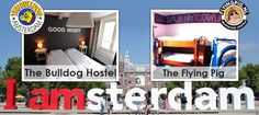 """Hands up! Who has ever been to Amsterdam?     Check out our new Blog Post about """"Smoke and Stay at a Hostel in Amsterdam"""" including the The Bulldog Hotel Amsterdam and The Flying Pig Downtown Hostel!    http://www.gomio.com/blog/index.php/smoke-and-stay-at-a-hostel-in-amsterdam/      #Amsterdam #FlyingPigHostel #Netherlands #HostelsInAmsterdam #TheBulldogHotel #GomioHostels"""
