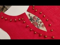 In this video I will teach you how to make Latest and creative neck design cutting & stitching by Sheree boutique. Churidhar Neck Designs, Salwar Neck Designs, Churidar Designs, Neck Designs For Suits, Kurta Neck Design, Saree Blouse Neck Designs, Neckline Designs, Dress Neck Designs, Blouse Designs