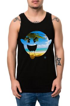 The Good Life Boogie Tank Top in Black
