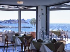 Dining with the most breathless view! Monemvasia Greece, Shower Wheelchair, Greece Hotels, Superior Room, Honeymoon Suite, Spa Tub, Jetted Tub, Beach Umbrella, Bar Lounge