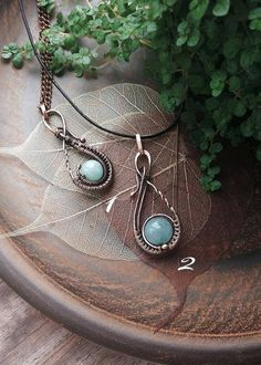 Copper Wire winding pendant, Sky blue agate beads, inexpensive gift, Natural stone, Semi precious jewelry, casual style, Everyday jewelry