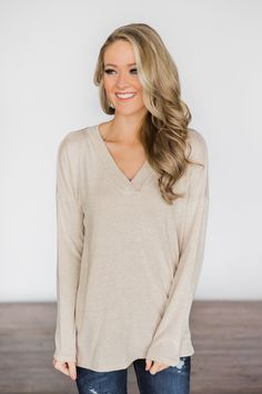 1dadfac48ab Simply Soft High Low Top~ Taupe – The Pulse Boutique High Low Top