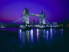 LONDON  --  Tower Bridge is a combined bascule and suspension bridge in London, England, over the River Thames. It is close to the Tower of London, which gives it its name. It has become an iconic symbol of London.