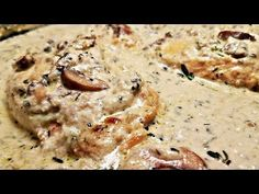 Creamy Garlic Butter Chicken, Italian Lemon Butter Rooster Thighs With Creamy Garlic Sauce One Pan Creamy Garlic Rooster Breasts Fast Simple The Chunky Creamy Garlic Butter Rooster. Mushroom Cream Sauces, Chicken Mushroom Recipes, Garlic Chicken Recipes, Creamy Garlic Mushrooms, Creamy Garlic Chicken, Guisada Recipe, One Pan Chicken, Easy Potato Recipes, Mushrooms