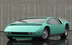 1968 Bizzarini Manta concept by Ital Design.