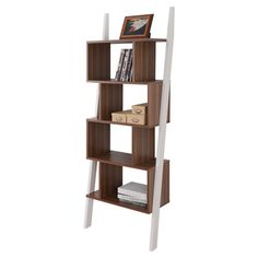 Featuring a sculptural design and 5 off-set tiers, this chic etagere is perfect for displaying your favorite reads or cherished family photos.  ...