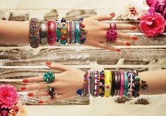 colored jewels!