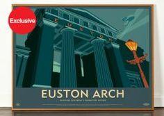 Lost Destination: Euston Arch