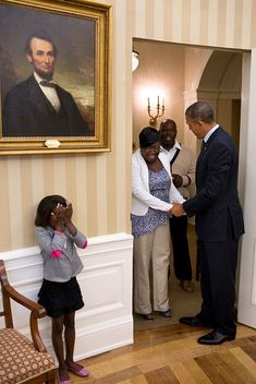 Meet Janiya Penny, the terminally ill eight-year-old whose dream came true earlier this year when she got to meet her idol, President Obama.