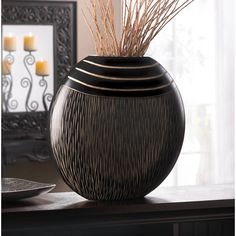 Zingz & Thingz Tribal Decorative Vase