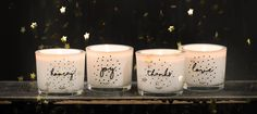 me&mats*: candles with feel good quotes, the perfect gift! | Juttu #candle #quote#Juttu