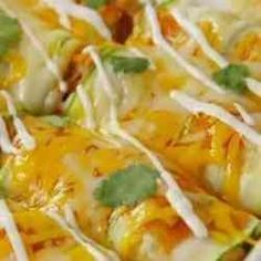 1. Low Carb Chicken Zucchini Enchilada - 30 Low Carb Diet Recipes